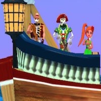 TOP SHOOTOUT PIRATE SHIP